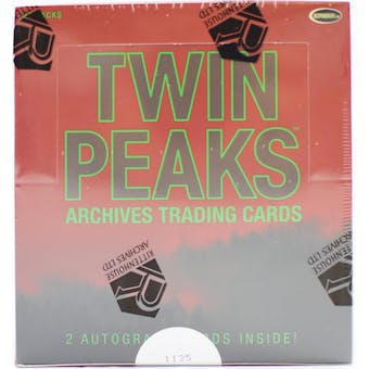 Twin Peaks Archives Trading Cards Box (Rittenhouse 2019)