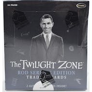 Twilight Zone Rod Serling Edition Trading Cards Box (Rittenhouse 2019)