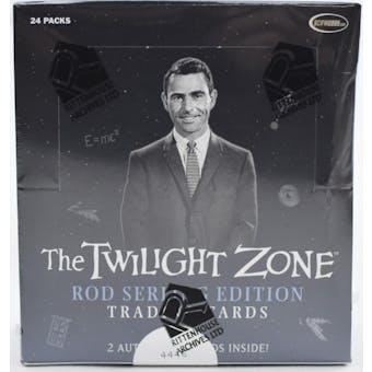 Twilight Zone Rod Serling Edition Trading Cards Box (Rittenhouse 2019)