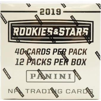 2019 Panini Rookies & Stars Football 12ct Jumbo Fat Pack Box