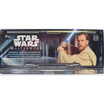 Star Wars Masterwork Hobby Box (Topps 2019)