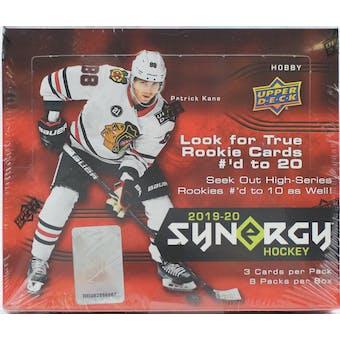 2019/20 Upper Deck Synergy Hockey Hobby Box