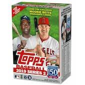 2019 Topps Series 2 Baseball 7-Pack Blaster Box (Mookie Betts Highlights!)