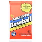 2019 Topps Archives Baseball Hobby Pack
