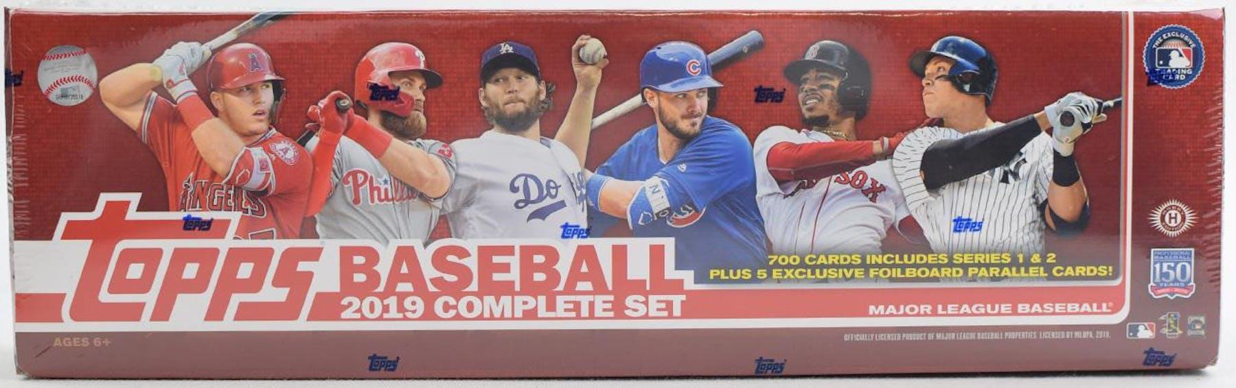 2019 Topps Factory Set Baseball Hobby Box
