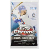 2019 Topps Chrome Baseball Hobby Pack