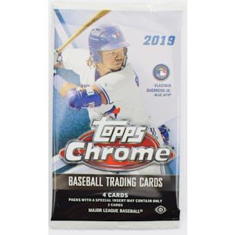 2019 Topps Chrome Baseball Hobby Pack