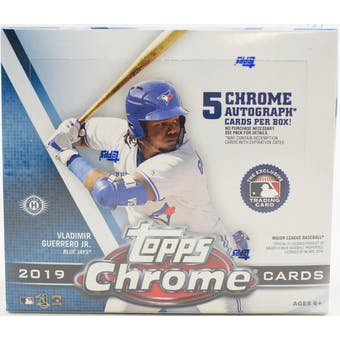 2019 Topps Chrome Baseball Jumbo 8-Box Case- DACW Live 30 Spot Pick Your Team Break #2