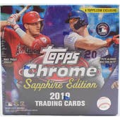 2019 Topps Chrome Sapphire Edition Baseball Box