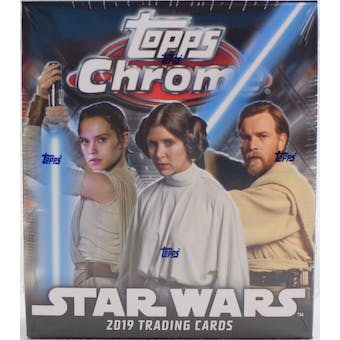 Star Wars Chrome Legacy Hobby Mini-Box (Topps 2019)