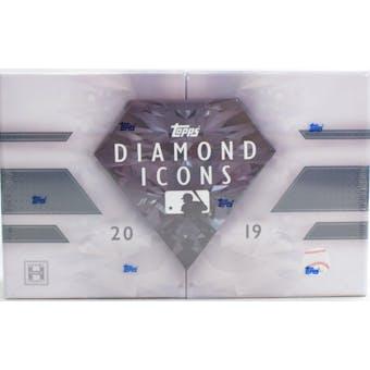 2019 Topps Diamond Icons Baseball 4-Box Case- DACW Live 40 Spot Random Hit Break #1