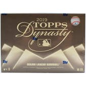 2019 Topps Dynasty Baseball 5-Box Case- DACW Live 25 Spot Random Team Break #1