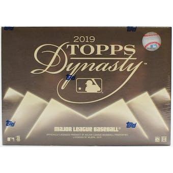 2019 Topps Dynasty Baseball 5-Box Case- DACW Live 30 Spot Pick Your Team Break #1