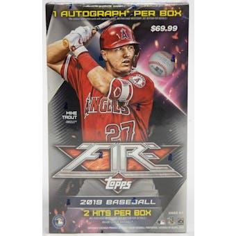 2019 Topps Fire Baseball Collector Box