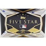 2019 Topps Five Star Baseball 4-Box- DACW Live 6 Spot Random Division Break #1