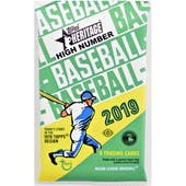 2019 Topps Heritage High Number Baseball Hobby Pack