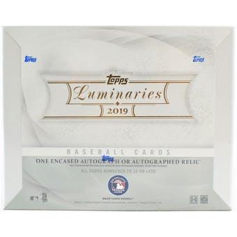 2019 Topps Luminaries Baseball Hobby Box