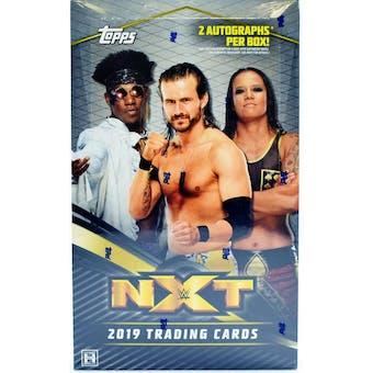 2019 Topps WWE NXT Wrestling Hobby Box