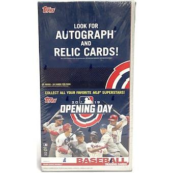 2019 Topps Opening Day Baseball Rack Pack Box