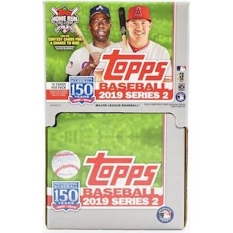 2019 Topps Series 2 Baseball 36-Pack Box