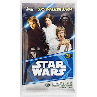 Star Wars Skywalker Saga Hobby Pack (Topps 2019)