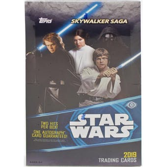 Star Wars Skywalker Saga Hobby Box (Topps 2019)