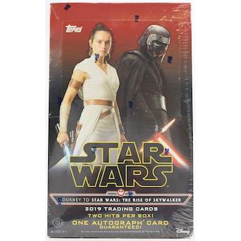 Journey to Star Wars The Rise of Skywalker Hobby Box (Topps 2019)