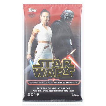Journey to Star Wars The Rise of Skywalker Hobby Pack (Topps 2019)