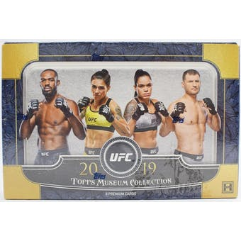 2019 Topps UFC Museum Collection Hobby Box