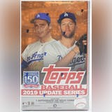 2019 Topps Update Series Baseball Hobby Box (PLUS 1 Silver Pack!)