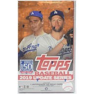 2019 Topps Update Series Baseball Hobby Box (PLUS 1 Silver Pack!)