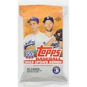 2019 Topps Update Series Baseball Hobby Jumbo Pack