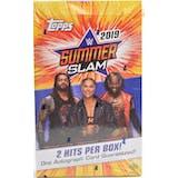 2019 Topps WWE SummerSlam Wrestling Hobby Box