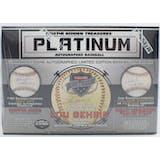 2019 TriStar Platinum Autographed Baseball Series 2 Hobby Box