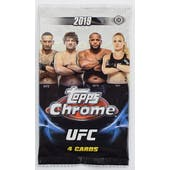 2019 Topps UFC Chrome Hobby Pack