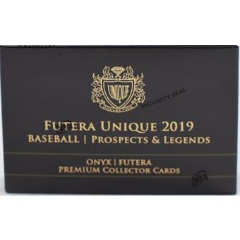 2019 Onyx Futera Unique Prospects & Legends Baseball Hobby Mini-Box