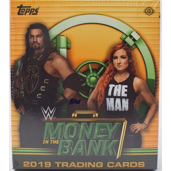 2019 Topps WWE Money in the Bank Wrestling Hobby Mini-Box