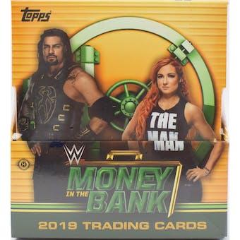 2019 Topps WWE Money in the Bank Wrestling Hobby Box