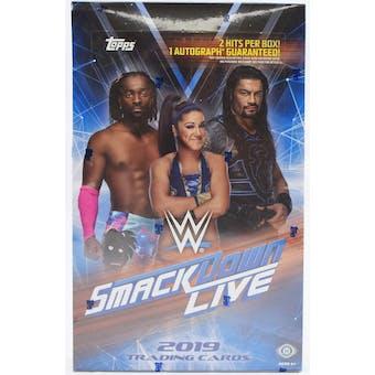 2019 Topps WWE Smackdown Live! Wrestling Hobby Box
