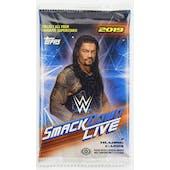 2019 Topps WWE Smackdown Live! Wrestling Hobby Pack
