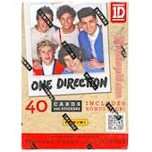 One Direction 4-Pack Box (Panini 2013)