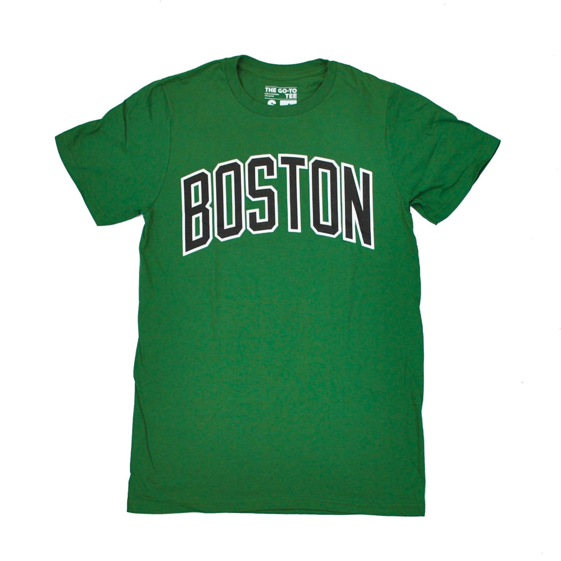 boston celtics adidas green the go to tee shirt da card world. Black Bedroom Furniture Sets. Home Design Ideas