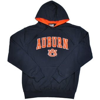 Auburn Tigers Colosseum Navy Zone Pullover Fleece Hoodie (Adult M)