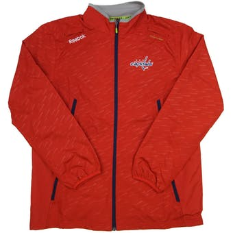 Washington Capitals Reebok Red Center Ice Performance Rink Jacket (Adult XL)