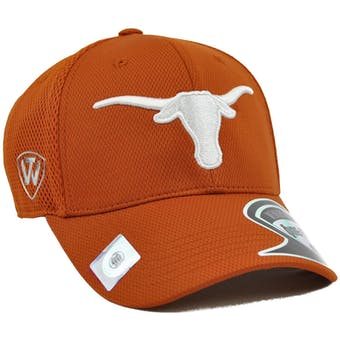 Texas Longhorns Top Of The World Resurge Burnt Orange One Fit Flex Fit Hat (Adult One Size)