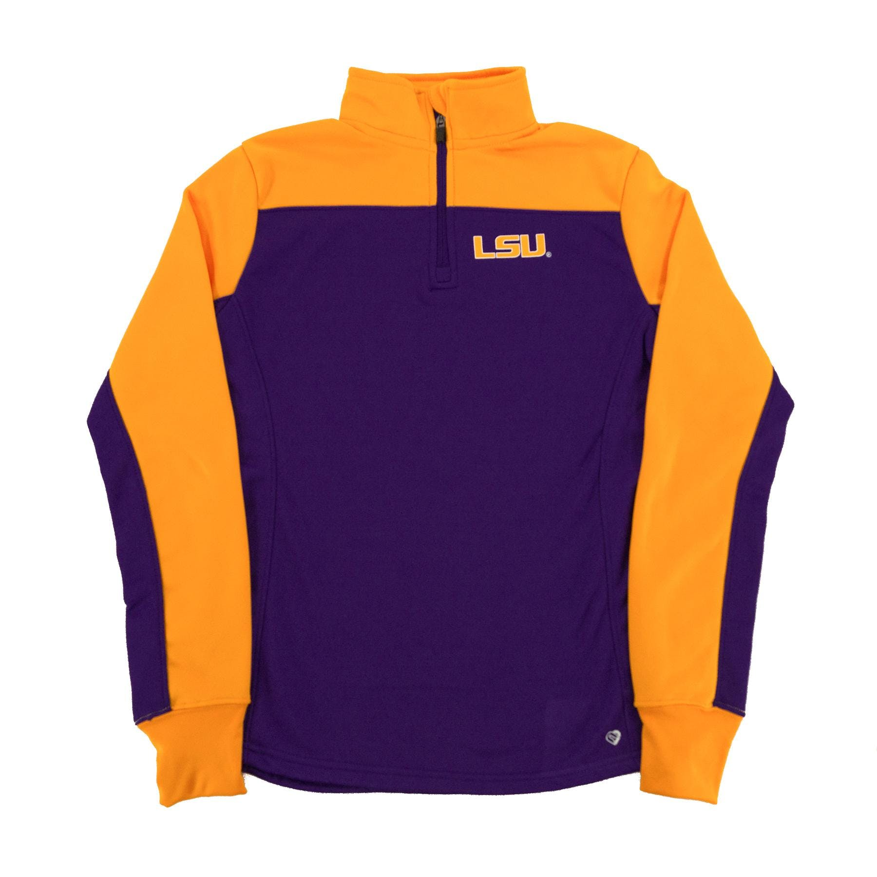 LSU Tigers Colosseum Yellow Joust 1/4 Zip Performance