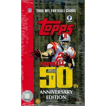 2005 Topps Football First Edition Hobby Box