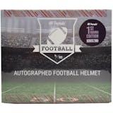 2019 Hit Parade Auto Football Helmet 1st Round 1-Box Ser 2- DACW Live 8 Spot Random Division Break 2