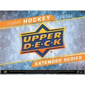 2020/21 Upper Deck Extended Series Hockey 7-Pack Blaster 20-Box Case (Presell)