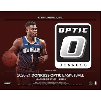 2020/21 Panini Donruss Optic Basketball Hobby 3-Box- DACW Live 6 Spot Random Division Break #1